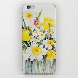 Mary's Daffodils iPhone Skin