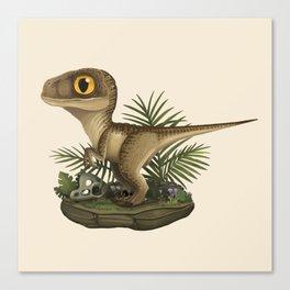 Velociraptor Canvas Print