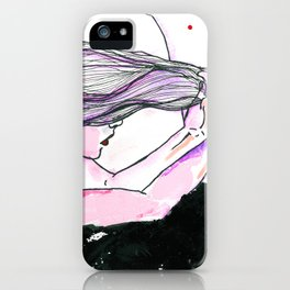 Acht Mädchen.  iPhone Case