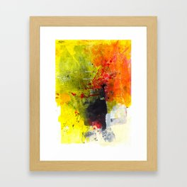 Surrounded by Color Framed Art Print