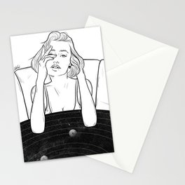 Confused mind. Stationery Cards