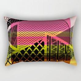 Zentangle Fun Rectangular Pillow