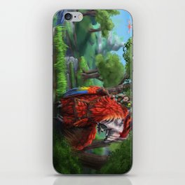 Parrot Dragon iPhone Skin