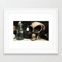 antique Framed Art Prints featuring antique by jennifersupertramp