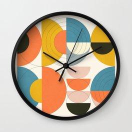 Roud Flow No. 7 Wall Clock