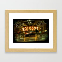 Time Travel Framed Art Print