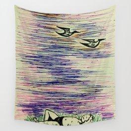 Sleepless Nights Wall Tapestry