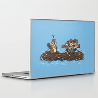 woody Laptop & iPad Skins featuring Woody by Rodrigo Ferreira