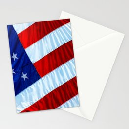 Flag of the United States of America Stationery Cards