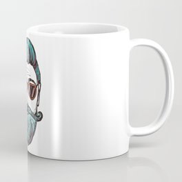 Hipster Face Style Coffee Mug