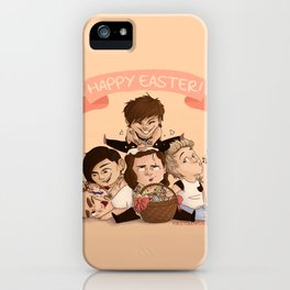 Happy OT5 Easter iPhone Case