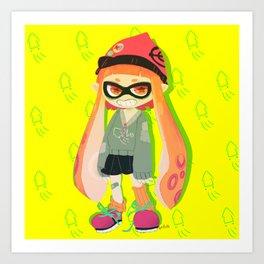 squid squid squid squid squid  Art Print