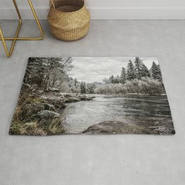 Wintry River Rug