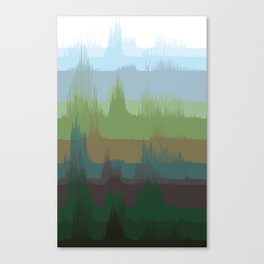 Vocalscape IV Canvas Print