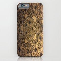 Mandala in Gold Slim Case iPhone 6s
