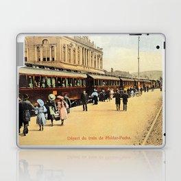 1900s Haydarpasa railroad station, train Laptop & iPad Skin