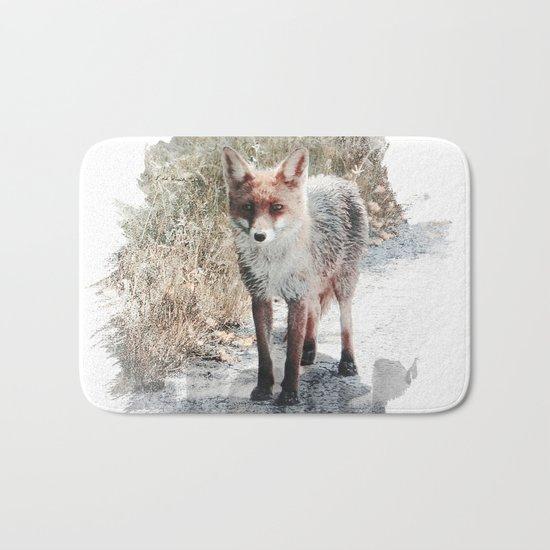 How I met a Fox Bath Mat