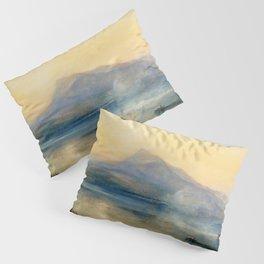 "J.M.W. Turner ""The Dark Rigi, the Lake of Lucerne, Showing the Rigi at Sunrise"" Pillow Sham"