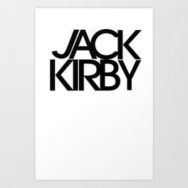 Classic : Jack Kirby Art Print