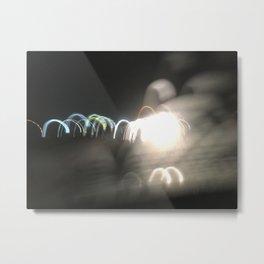Space Croquet Metal Print