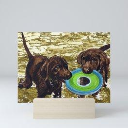 Josie & Clara Mini Art Print