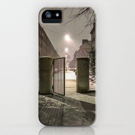 Winter is apparently already here iPhone Case
