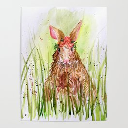 Rosie Rabbit Poster