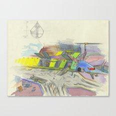 Seaport Canvas Print