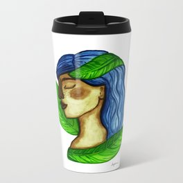 Connected with Gaia Metal Travel Mug