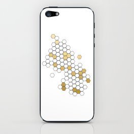 Honey Comb iPhone Skin