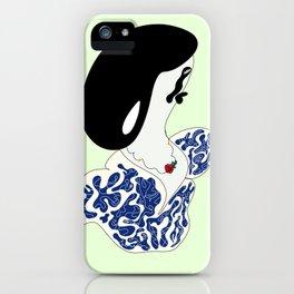 The Sad Mona Lisa iPhone Case