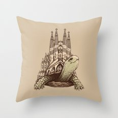Slow Architecture Throw Pillow