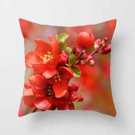 Red 95 Throw Pillow