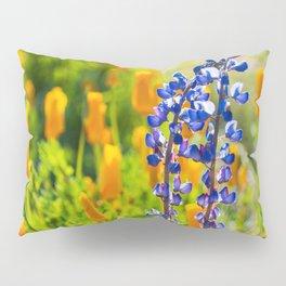 Desert Lupines Pillow Sham