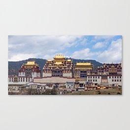 Songzanlin Tibetan Monastery Canvas Print