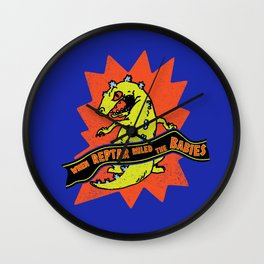 When Reptar Ruled The Babies Wall Clock