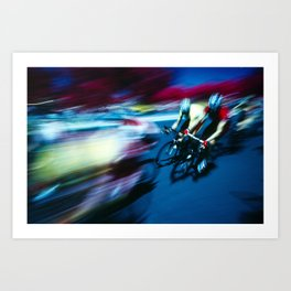 Sprint! Art Print