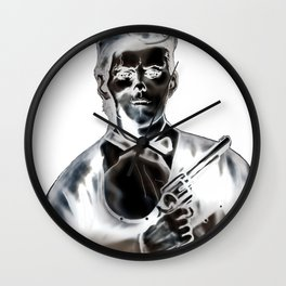 The Ghost of Jesse James Wall Clock