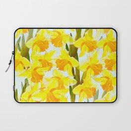 Spring Breeze With Yellow Flowers #decor #society6 #buyart Laptop Sleeve