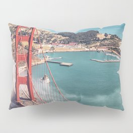 golden gate bridge in san francisco Pillow Sham