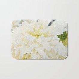 Cream Peonies | Flowers | Flower | Florals | Nadia Bonello | Canada Bath Mat