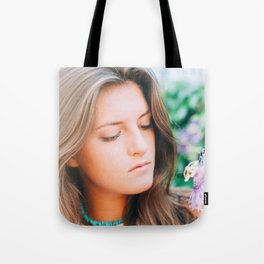 Flower photography by Seth Doyle Tote Bag