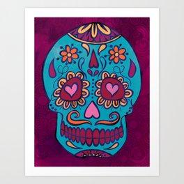 Calavera I Art Print