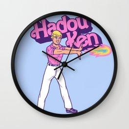 Hadou Ken Wall Clock
