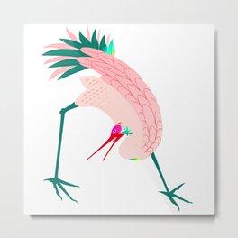 A Curious Bird Metal Print
