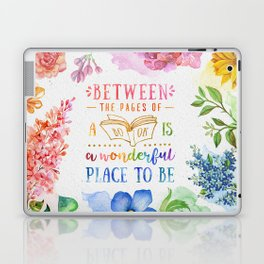 Between the pages Laptop & iPad Skin