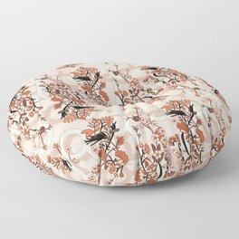 Strokes of Autumn Floor Pillow
