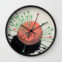pincushion n. 2 (ORIGINAL SOLD). Wall Clock