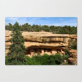 An Ancient Settlement Canvas Print