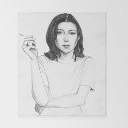 Joan Didion Throw Blanket